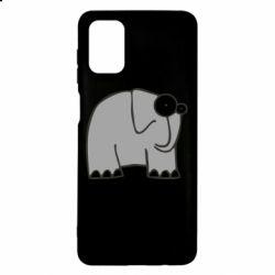 Чехол для Samsung M51 удивленный слон