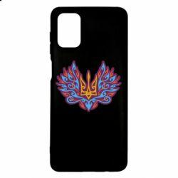 Чохол для Samsung M51 Український тризуб арт