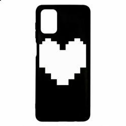 Чохол для Samsung M51 Undertale heart