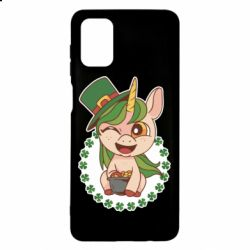 Чехол для Samsung M51 Unicorn patrick day