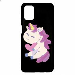 Чехол для Samsung M51 Unicorn with love