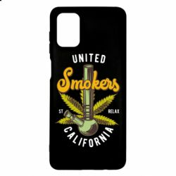 Чохол для Samsung M51 United smokers st relax California