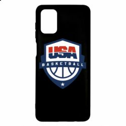 Чехол для Samsung M51 USA basketball