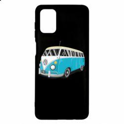 Чехол для Samsung M51 Vector Volkswagen Bus