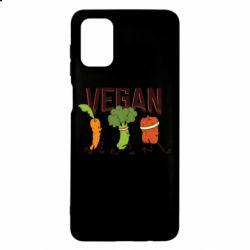 Чохол для Samsung M51 Веган овочі