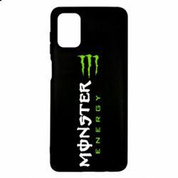 Чохол для Samsung M51 Вертикальний Monster Energy