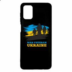Чохол для Samsung M51 War veteran оf Ukraine
