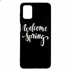 Чохол для Samsung M51 Welcome spring
