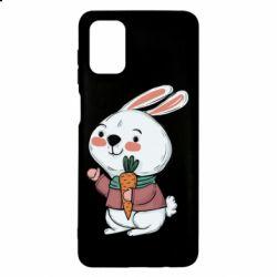 Чохол для Samsung M51 Winter bunny