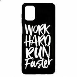 Чохол для Samsung M51 Work hard run faster