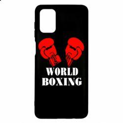 Чехол для Samsung M51 World Boxing