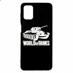 Чехол для Samsung M51 World Of Tanks Game