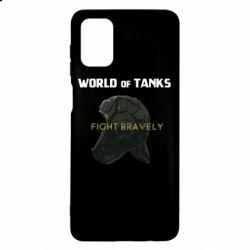 Чехол для Samsung M51 WoT Fight bravely