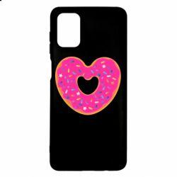 Чехол для Samsung M51 Я люблю пончик