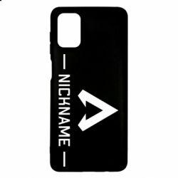 Чехол для Samsung M51 Your NickName English only