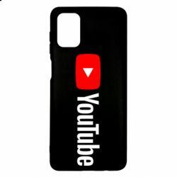 Чехол для Samsung M51 Youtube logotype
