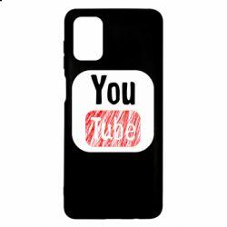 Чохол для Samsung M51 YouTube
