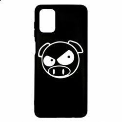 Чехол для Samsung M51 Злая свинка