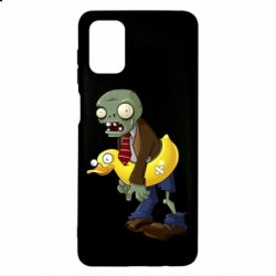 Чехол для Samsung M51 Zombie with a duck