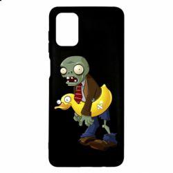 Чохол для Samsung M51 Zombie with a duck