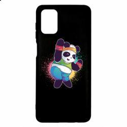 Чохол для Samsung M51 Zumba Panda