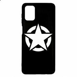 Чохол для Samsung M51 Зірка Капітана Америки