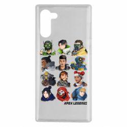 Чохол для Samsung Note 10 Apex legends heroes
