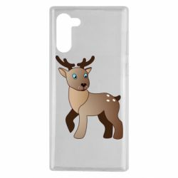 Чехол для Samsung Note 10 Cartoon deer