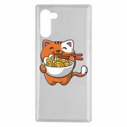Чохол для Samsung Note 10 Cat and Ramen