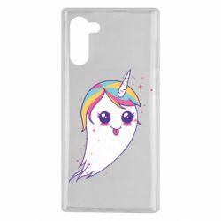 Чохол для Samsung Note 10 Ghost Unicorn
