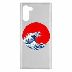Чохол для Samsung Note 10 Godzilla Wave