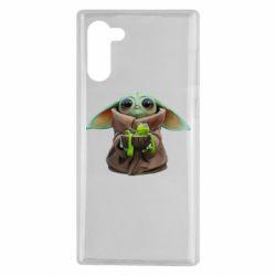 Чохол для Samsung Note 10 Grogu and Kermit