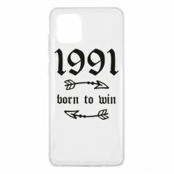Чохол для Samsung Note 10 Lite 1991 Born to win