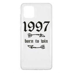 Чохол для Samsung Note 10 Lite 1997 Born to win