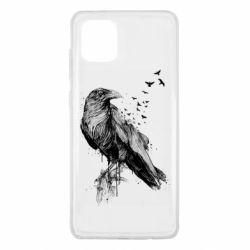 Чохол для Samsung Note 10 Lite A pack of ravens