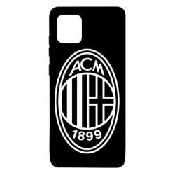Чохол для Samsung Note 10 Lite AC Milan logo