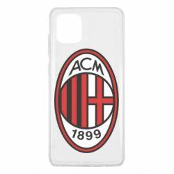 Чохол для Samsung Note 10 Lite AC Milan