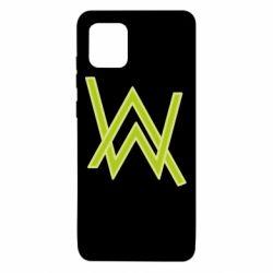 Чехол для Samsung Note 10 Lite Alan Walker neon logo