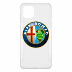 Чехол для Samsung Note 10 Lite ALFA ROMEO