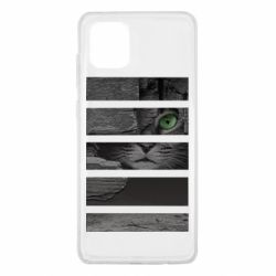 Чехол для Samsung Note 10 Lite All seeing cat