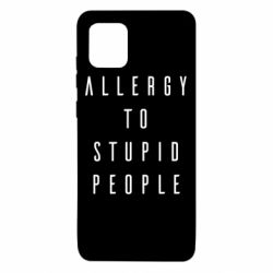 Чехол для Samsung Note 10 Lite Allergy To Stupid People