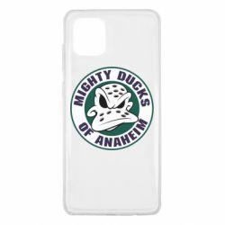 Чехол для Samsung Note 10 Lite Anaheim Mighty Ducks Logo