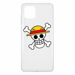 Чохол для Samsung Note 10 Lite Anime logo One Piece skull pirate