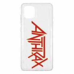Чохол для Samsung Note 10 Lite Anthrax red logo