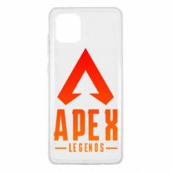 Чохол для Samsung Note 10 Lite Apex legends gradient logo