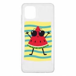 Чехол для Samsung Note 10 Lite Арбуз на пляже