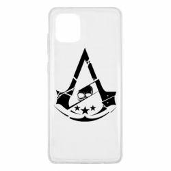 Чехол для Samsung Note 10 Lite Assassin's Creed and skull 1