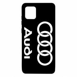 Чехол для Samsung Note 10 Lite Audi