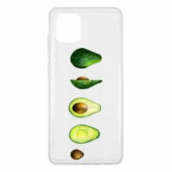 Чехол для Samsung Note 10 Lite Avocado set