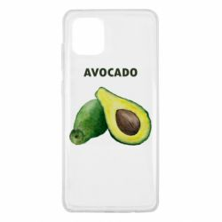 Чехол для Samsung Note 10 Lite Avocado watercolor